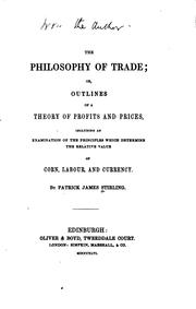 philosophy of trade