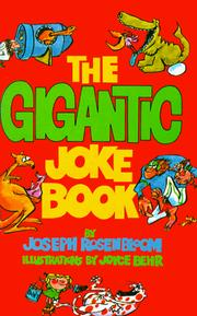 Cover of: The gigantic joke book