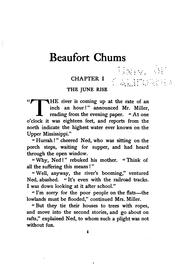 Cover of: Beaufort chums