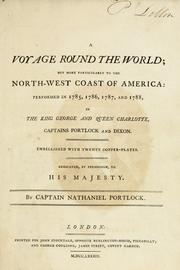 Cover of: A voyage round the world by Nathaniel Portlock