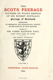 Cover of: The Scots peerage | Sir James Balfour Paul