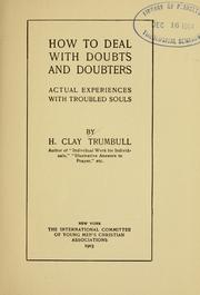 Cover of: How to deal with doubts and doubters
