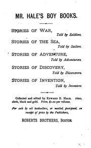 Stories of the sea told by sailors by Hale, Edward Everett