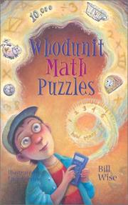 Cover of: Whodunit Math Puzzles | Bill Wise