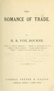 Cover of: The romance of trade