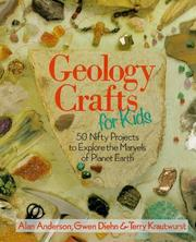 Cover of: Geology crafts for kids | Anderson, Alan H.