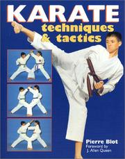 Cover of: Karate Techniques & Tactics