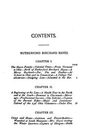 Cover of: Rutherford Birchard Hayes, James Abram Garfield and Chester Alan Arthur