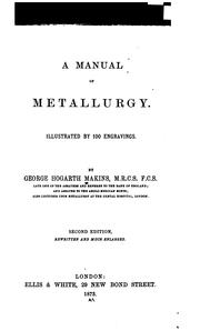 manual of metallurgy.