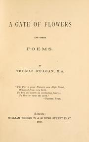 Cover of: gate of flowers and other poems. | O