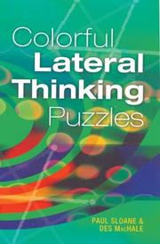 Cover of: Colorful Lateral Thinking Puzzles
