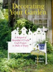 Cover of: Decorating Your Garden