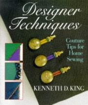 Cover of: Designer Techniques Couture Tips For Home Sewing