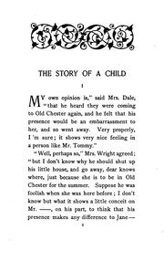 Cover of: The story of a child