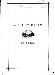 Cover of: A Child's Dream of a Star