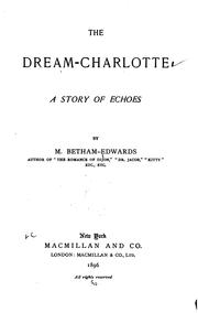 Cover of: The dream-Charlotte