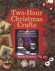 Cover of: Two-Hour Christmas Crafts