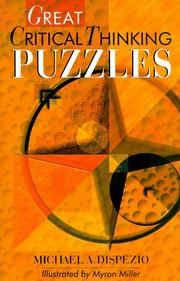 Cover of: Great critical thinking puzzles