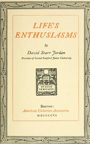 Cover of: Life's enthusiasms