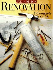 Cover of: Renovation