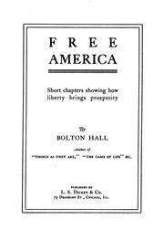Cover of: Free America