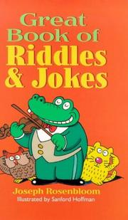 Cover of: Great Book of Riddles & Jokes