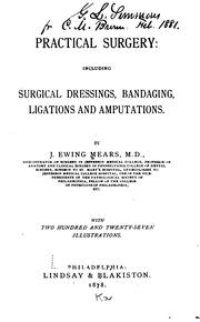 Cover of: Practical surgery