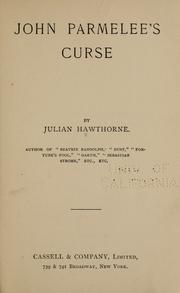 Cover of: John Parmelee's curse