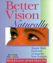 Cover of: Better Vision Naturally