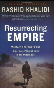 Cover of: Resurrecting Empire