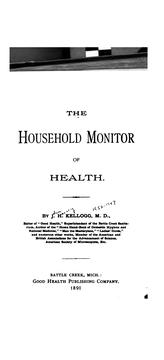 Cover of: The household monitor of health