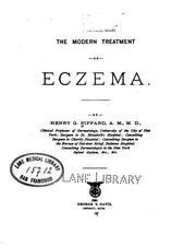 Cover of: The modern treatment of eczema | Henry Granger Piffard