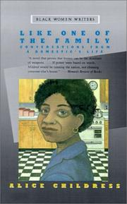 Cover of: Like one of the family: conversations from a domestic's life