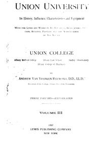 Union University by Andrew Van Vranken Raymond