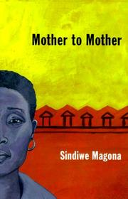 Cover of: Mother to mother