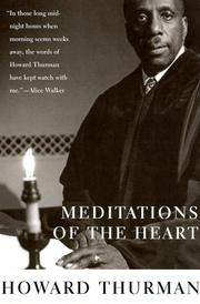 Cover of: Meditations of the heart