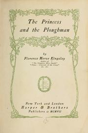 Cover of: The princess and the ploughman