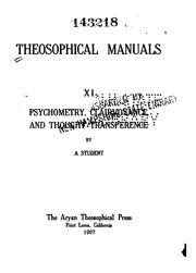 Theosophical manuals by