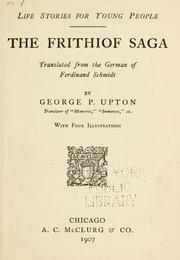 Cover of: The Frithiof saga: A poem.