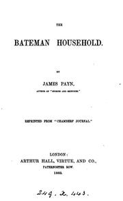 Cover of: The Bateman household
