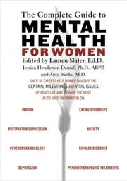 Cover of: The Complete Guide to Mental Health for Women