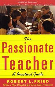 Cover of: The passionate teacher