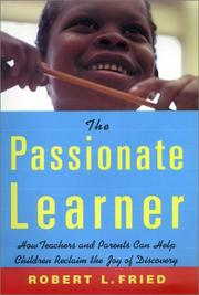 Cover of: The Passionate Learner
