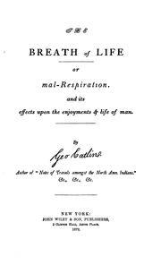 Cover of: The breath of life
