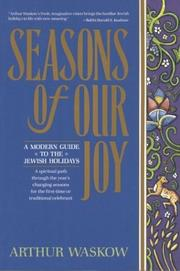 Seasons of our joy by Arthur I. Waskow