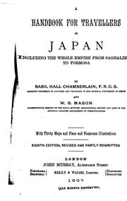 Cover of: A handbook for travellers in Japan including the whole empire from Saghalien to Formosa by John Murray (Firm)