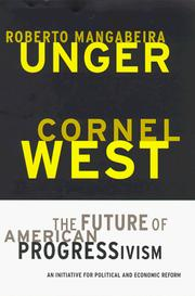 Cover of: The future of American progressivism | Roberto Mangabeira Unger