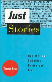 Cover of: Just stories | Ross, Thomas
