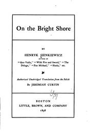 Cover of: On the bright shore