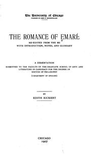 Cover of: The romance of Emaré